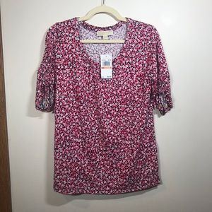MICHAEL MICHAEL KORS Floral Top, Size Small BNWT
